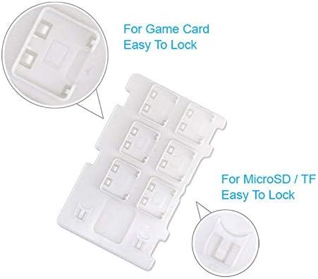OSTENT Estuche Micro SD para tarjeta de juego con caja de almacenamiento 8 en 1 para Nintendo Switch: Amazon.es: Videojuegos
