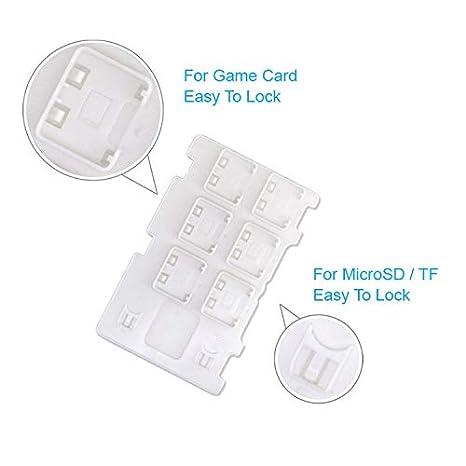 OSTENT Estuche Micro SD para tarjeta de juego con caja de ...
