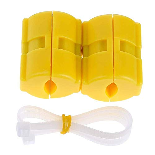 ar/Truck Automobile Magnetic Fuel Saver Car Power Saver Vehicle Magnetic Fuel Saving Economizer Fuel Saver (Yellow) ()