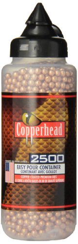 Crosman Copperhead Cal. 4.5mm BBs, 2500pk