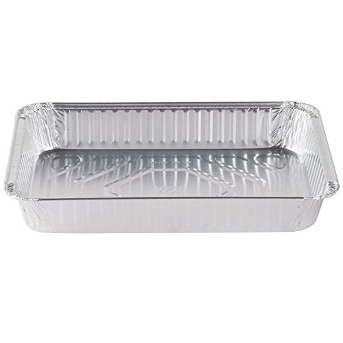 Durable Packaging Disposable Aluminum Cake/Baking Pan, 13'' x 9'' (Pack of 250) by Durable Packaging (Image #1)