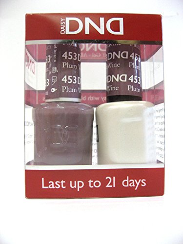 DND *Duo Gel* (Gel & Matching Polish) Fall Set 453 - Plum Wine by DND - Daisy Wine