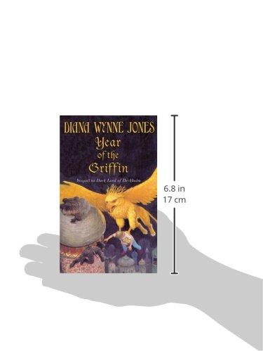 Year Of The Griffin Derkholm Diana Wynne Jones 9780064473354