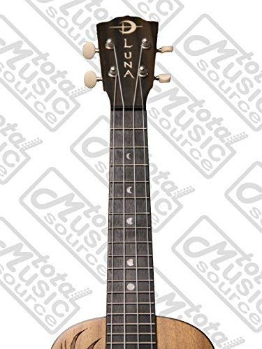 Luna Guitars ukelele Coral W/Tuner & PC: Amazon.es: Instrumentos ...