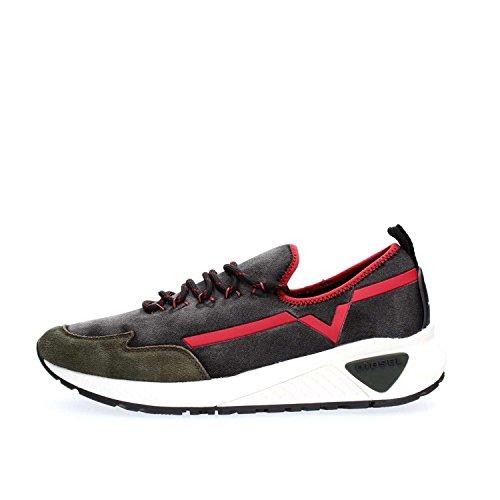 Diesel Y01534 P1415 SKB Sneakers Uomo Denim Black 45