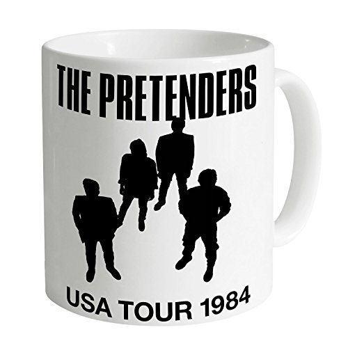 Official The Pretenders USA Tour 1984 Mug