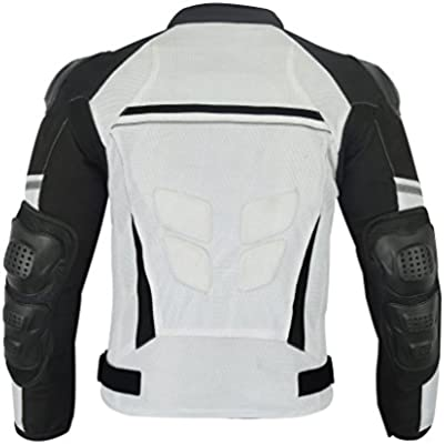Men's Motorcycle all weathers Waterproof Jacket with External Armor Mesh MJ-1701