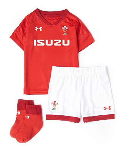 Under Armour 2018-2019 Wales Rugby Home WRU Infant for sale  Delivered anywhere in Canada