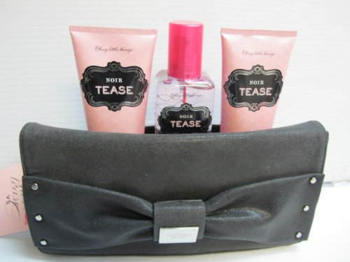 323a4697f2a Victoria s Secret Sexy Little Things Noir Tease 4 Pcs Gift Set Bag - Buy  Online in UAE.