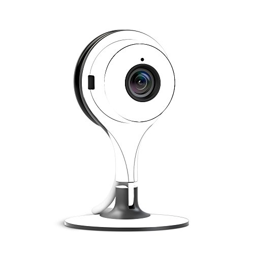 MightySkins Skin for Nest Cam Indoor Security Camera - Solid White | Protective, Durable, and Unique Vinyl Decal wrap Cover | Easy to Apply, Remove, and Change Styles | Made in The USA