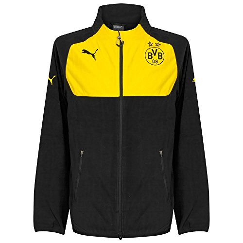Borussia Dortmund Full Zip Fleece 2016 / 2017 – Black – DiZiSports Store