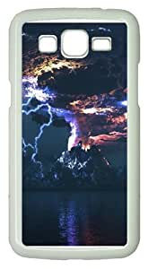 Angry Volcano Polycarbonate Hard Case Cover for Samsung Grand 2/7106 White by Maris's Diary