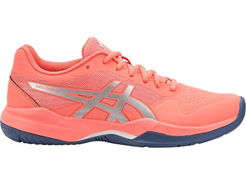 ASICS Women's Gel-Game 7 Tennis Shoes, 8.5M, Papaya/Silver