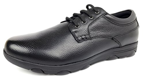 Slip Shoe MEADA Leather Resistant Black KITCHEN Men's FOR SHOES Work wxC4qBRX