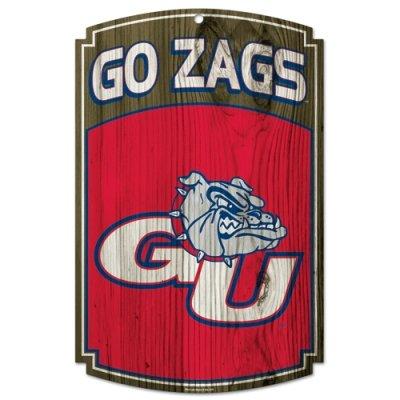 Wincraft NCAA Gonzaga University 76150091 Wood Sign, 11