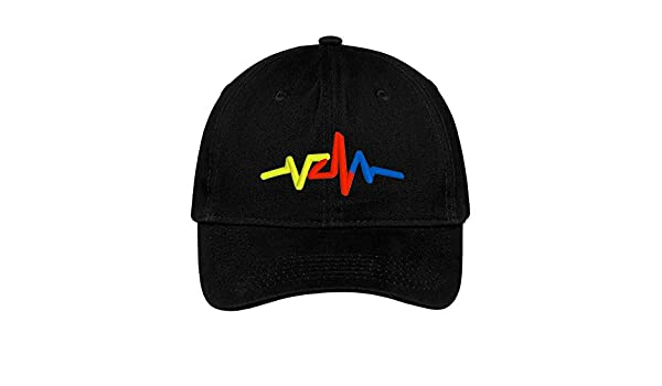 Venezuela Heart Line Hat Embroidered Baseball Dad Cap Gorra Republica de Venezuela Escudo Resistencia Vinotinto Libertad Black at Amazon Mens Clothing ...