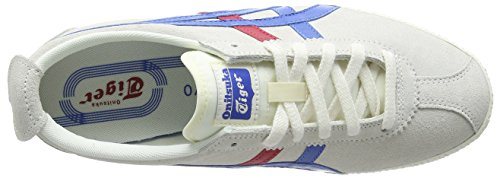 Onitsuka Tiger Mexico Delegation, Sneaker Unisex – Adulto Bianco (White (White/Blue 0142))