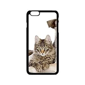 linJUN FENGDog And Cat Hight Quality Plastic Case for Iphone 6
