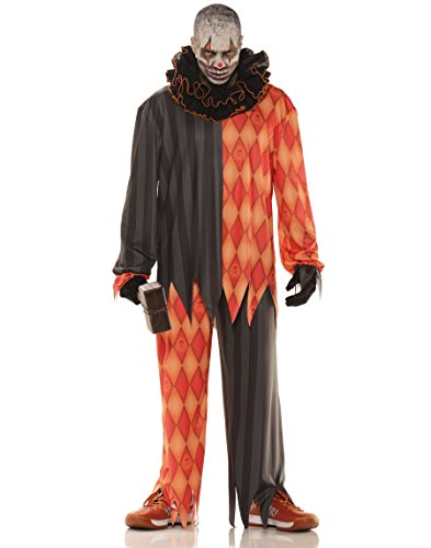 [Evil Clown] (Scary Halloween Costumes Mens)