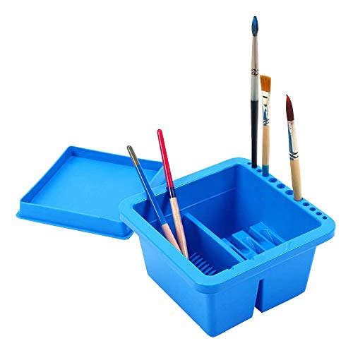 MyLifeUNIT Artist Brush Basin Paint Brush Tub