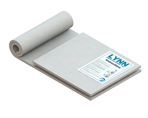 "Lynn Manufacturing Wet Ceramic Fiber Blanket, 2300F Rated, Lynn Kit B, 48''x 14'' x 1/2'' (1 ea) & 14"" x 16"" x ½"" (1 ea) by Lynn Manufacturing"