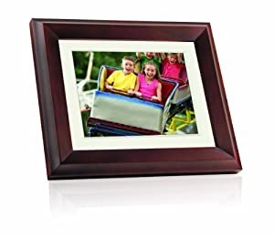 giinii gh 8dnm 8 inch digital picture frame brown