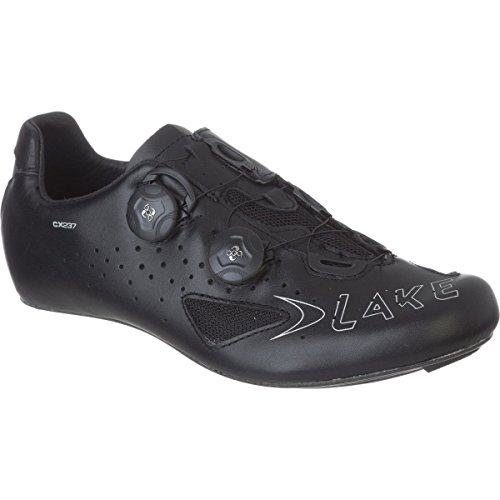 Lake CX237 Cycling Shoe - Wide - Men's Black, 50.0/Wide