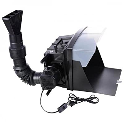 NEW LEAF Portable Airbrush Spray Booth Kit Odor Extractor w/ Hose