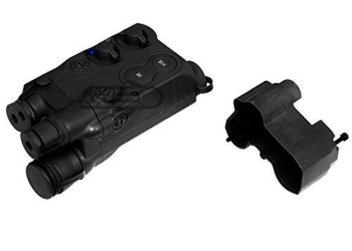 Lancer Tactical Airsoft AN/PEQ-16 Battery Box – CA-467B Rail Mount PEQ Box for Front Wired Airsoft Guns (AEGs) – - Box Gun Airsoft Black