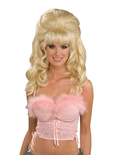 Forum Novelties Women's Flirty Fantasy Adult Wig Costume Accessory, Blonde, One Size -