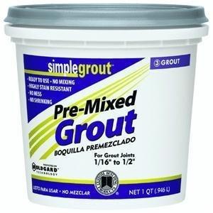 (Custom PMG105QT 1-Quart Simple Premium Grout, Earth by)