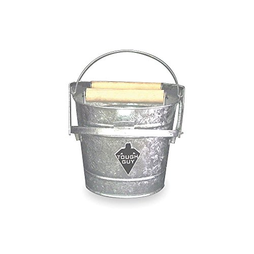 Mop Bucket and Wringer, 3 gal, Silver ()
