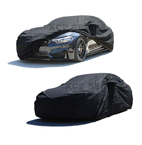 XtremeCoverPro 100% Breathable Car Cover for Select BMW 528 535 540 545 550 M5 2003 2004 2005 2006 2007 2008 2009 (Jet Black)