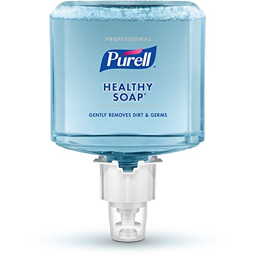 PURELL ES4 Professional HEALTHY SOAP Foam Refill, Fresh Scent, 1200 mL Soap Refill for PURELL ES4 Push-Style Dispenser (Pack of 2) - 5077-02