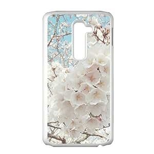 Aesthetic flowers design fashion phone case for LG G2