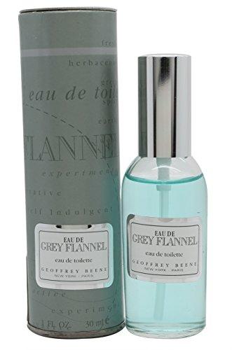 Geoffrey Beene Eau De Grey Flannel 1 oz. EDT Spray Men - Grey Flannel Rose Eau De Toilette