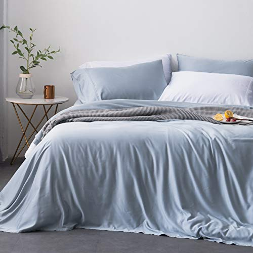 Oasis Fine Linens Island Bamboo Collection (Full, Blue Moon)