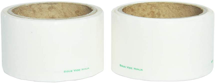 120 Labels 1x2 Inch Blank Dissolvable Labels-Dissolve in Water Completely Without Residue Food Label Sticker Left Behind-Two Rolls