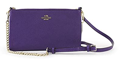 Coach Kylie Embossed Textured Leather Crossbody, Style 52385