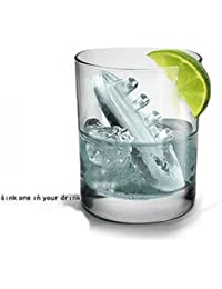 Access 8X Novelty TPR Household Party Gin & Titanic Ship Shaped Freeze Ice Mold Tray-Blue discount