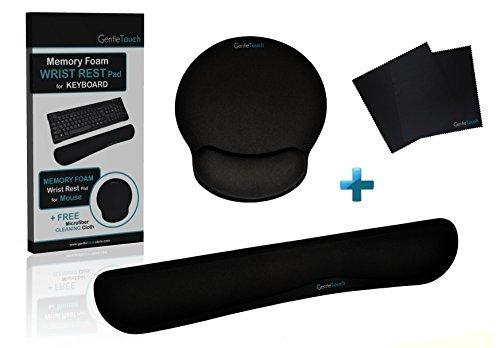 Wrist-Rest-Keyboard-Pad-with-Bonus-Wrist-Rest-Mouse-Pad-Black