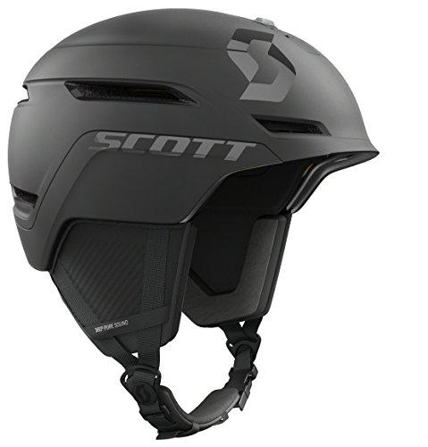 Scott Unisex Adult Symbol 2 Plus D MIPS Snow Sports Helmet (Black, MD (55-59 CM Circumference))