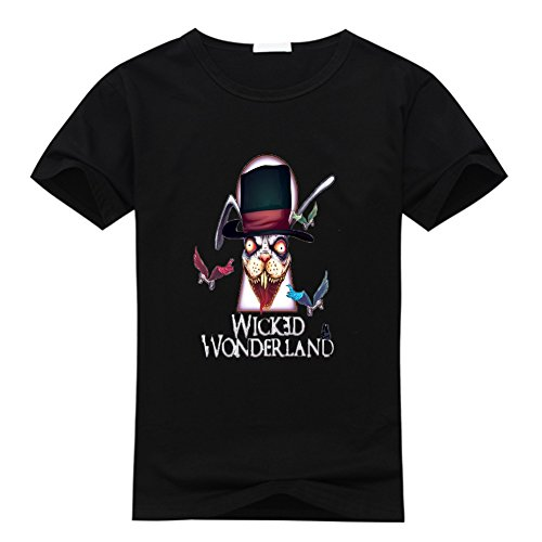 DIY Luxury The Wicked Men Slim Fit Summer Cotton T Shirt