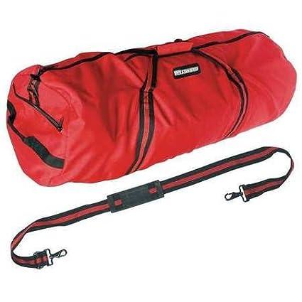 36Duffel Bag Red Zipper Closure 3 Pockets