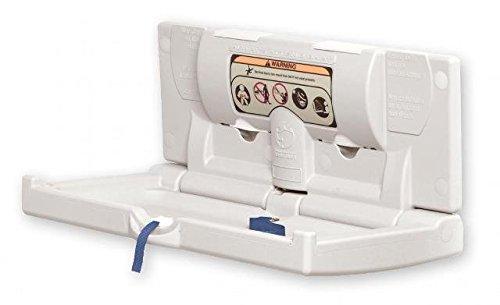 DryBaby ABC-300H Polyethylene, Horizontal, Durable Baby Changing Station