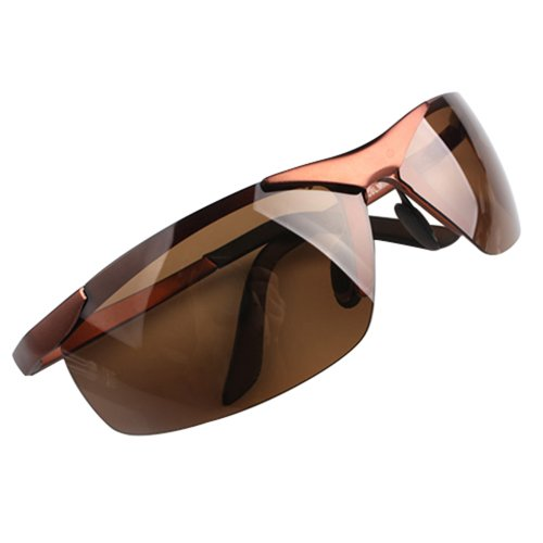Fashion Aviator Police Metal Frame Polarized Sunglasses Mens Glasses - Sunglass Police