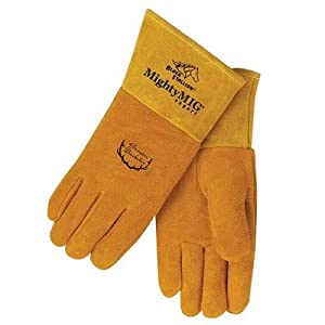 Revco Industries - Mighty Mig Premium Grain Deerskin Welding Gloves from Revco Industries