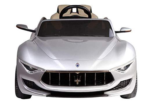 Siva Toys 50985 E Street Car Maserati Alfieri 12V 2.4 Ghz MP4 Silber, Mehrfarbig