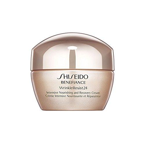 - Shiseido Benefiance Wrinkleresist24 Intensive Nourishing and Recovery Cream, 1.7 Ounce