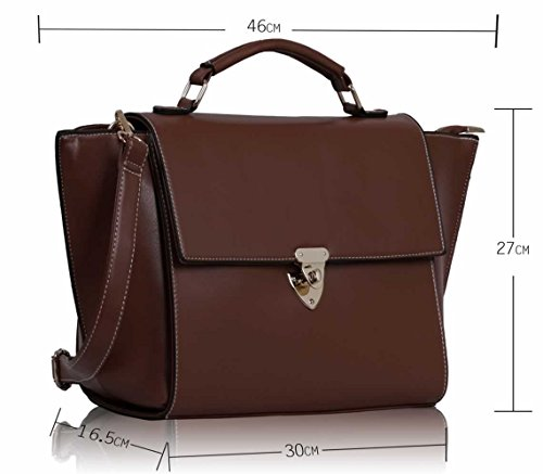 ANNA GRACE - Bolsa Mujer Design 5 -Brown